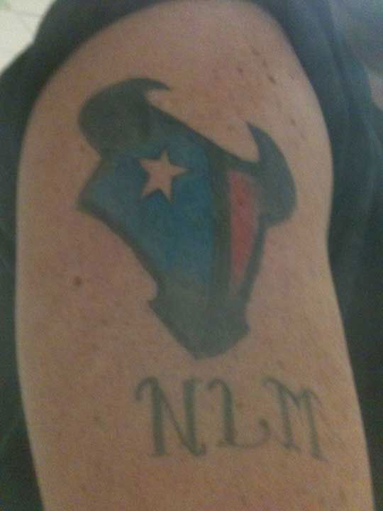 These are photos sent to us through our iWitness Reports.  If you have a Texans tattoo, too, we want to see.  Email photos to news@abc13.com or upload them on our iWitness Reports page. <span class=meta>(Photo&#47;iWitness Reports)</span>