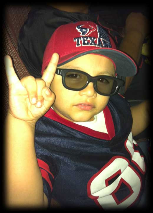 These are photos sent in you Texans fans.  If you have a fan photo, send it to us at news@abc13.com or upload it on our iWitness Reports page. <span class=meta>(Photo&#47;iWitness Reports)</span>