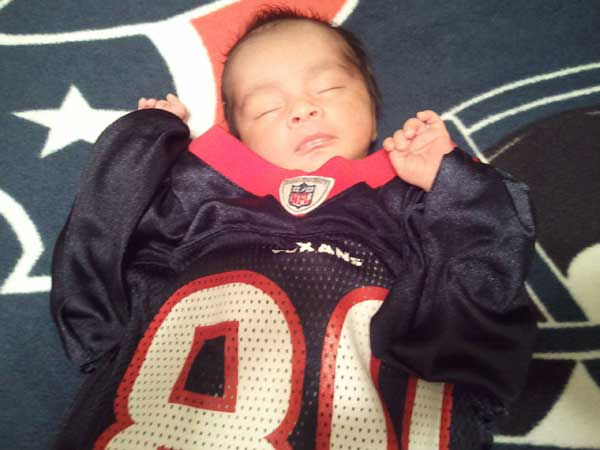 These are photos sent in by Texans fans. If you have a fan photo, send it to us at news@abc13.com or upload it on our iWitness Reports page.
