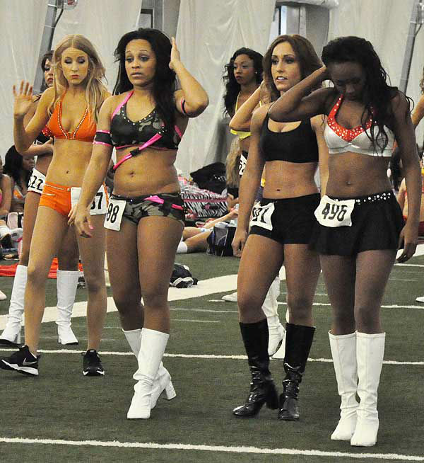 "<div class=""meta ""><span class=""caption-text "">These are photos from the second day of Houston Texans cheerleader tryouts, taken on April 7, 2013.  The field of hopefuls was narrowed down from the first day, and the judges are taking a close look at the smaller group of women as they decide on this year?s squad.  More about the Houston Texans cheerleaders. (Photo/ABC13)</span></div>"