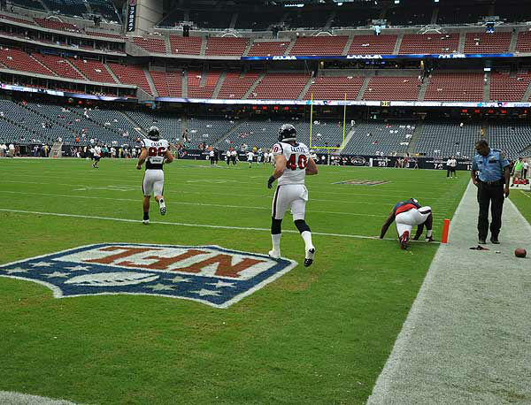 Inside Reliant Stadium before the season opener against Miami on Sunday, August 9, 2012.  If you have photos, eamil them to us at news@abc13.com <span class=meta>(Photo&#47;ABC13)</span>