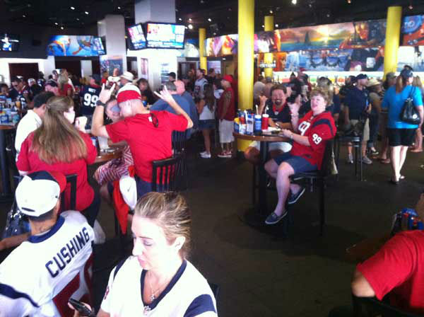 "<div class=""meta image-caption""><div class=""origin-logo origin-image ""><span></span></div><span class=""caption-text"">These are photos reporter Samica took of Texans fans in San Diego getting ready for the Monday night opener against the Chargers. Are you or anyone you know out there for the game? Send photos of Texans fans in San Diego to news@abc13.com and we'll add 'em! GO TEXANS!  (KTRK Photo/ Samica Knight)</span></div>"
