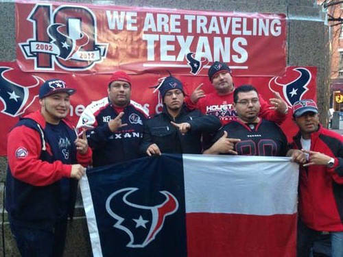 "<div class=""meta image-caption""><div class=""origin-logo origin-image ""><span></span></div><span class=""caption-text"">Check out these photos of Texans fans who've invaded New England for the showdown with the Patriots.  Send your fan photos to us at news@abc13.com and we'll post them here.</span></div>"