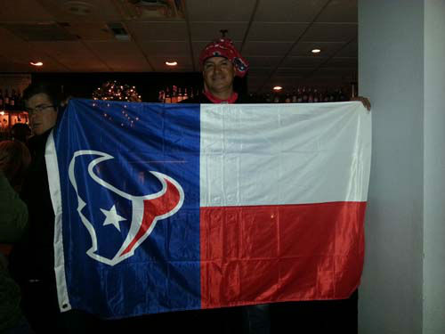 "<div class=""meta ""><span class=""caption-text "">Check out these photos of Texans fans who've invaded New England for the showdown with the Patriots.  Send your fan photos to us at news@abc13.com and we'll post them here.</span></div>"