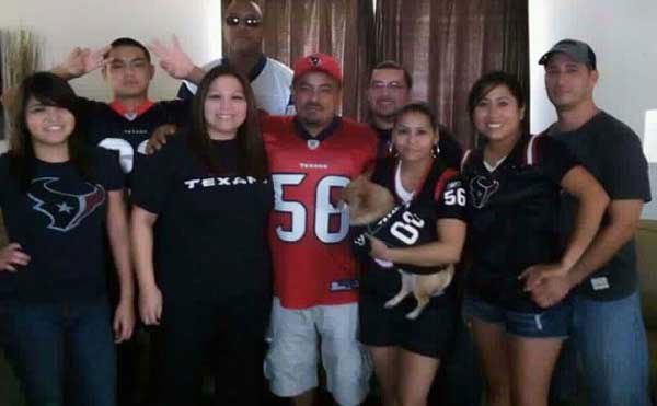 These are photos sent in by Texans fans. If you have a fan photo, send it to us at news@abc13.com or upload it on our iWitness Reports page. <span class=meta>(iWitness Reports)</span>