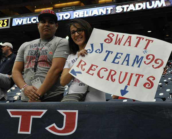 These are photos from inside and outside Reliant Stadium for the Vikings-Texans game on Sunday, December 23, 2012 <span class=meta>(Photo&#47;ABC13)</span>