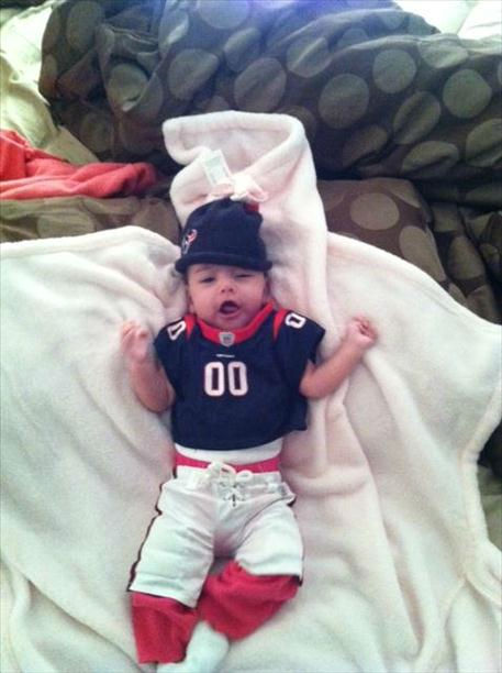 Who&#39;s ready for some football? These Texans fans are! They are just some of the photos emailed in to us through our iWitness Reports. Send your fan photos to news@abc13.com. <span class=meta>(Photo&#47;iWitness Reports)</span>