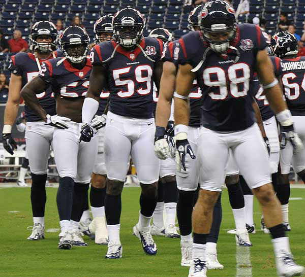 Photos from festivities at Reliant Stadium on August 18, 2012 before kickoff in the Texans&#39; preseason game number two against the San Francisco 49ers. <span class=meta>(Photo&#47;ABC13)</span>