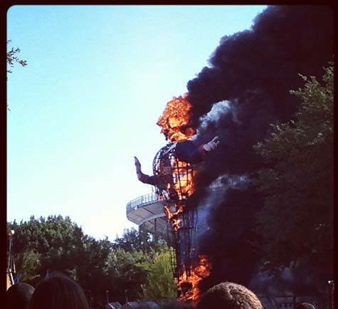 "<div class=""meta ""><span class=""caption-text "">These are photos we've received of Big Tex as it burned at the Texas State Fair today. If you have photos, email them to us at news@abc13.com. (Photo/iWitness reports)</span></div>"