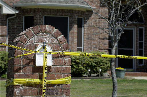 The home of Kaufman District Attorney Mike McLelland is shown Monday, April 1, 2013, near Forney, Texas. McLelland and his wife were both murdered at their home Saturday.  <span class=meta>(AP Photo&#47; Tony Gutierrez)</span>