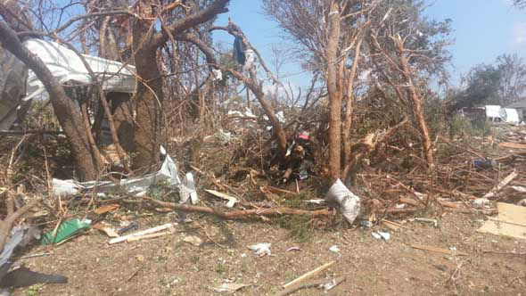 The Hood County Sheriff&#39;s Office released images from inside the area affected by multiple tornadoes in North Texas. <span class=meta>(Photo&#47;Hood County Sheriff&#39;s Office)</span>