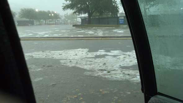 "<div class=""meta image-caption""><div class=""origin-logo origin-image ""><span></span></div><span class=""caption-text"">Hail, flooding and lots of lightning were reported all over the Houston area as a weather system moved across southeast Texas Saturday. (KTRK Photo)</span></div>"