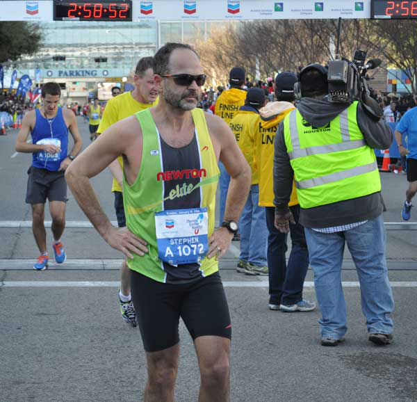 These are photos of runners crossing the finish line at the Chevron Houston Marathon and Aramco Houston Half Marathon Sunday, January 19, 2014. Flip through the photos to check out the relief, exhaustion and celebration on the faces of the runners after conquering the courses.  If you have photos from the run, send them to us at news@abc13.com or upload them at iWitness.abc13.com. <span class=meta>(Photo&#47;ABC13)</span>