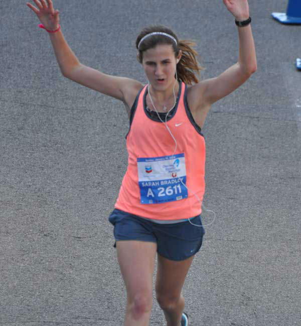 "<div class=""meta ""><span class=""caption-text "">These are photos of runners crossing the finish line at the Chevron Houston Marathon and Aramco Houston Half Marathon Sunday, January 19, 2014. Flip through the photos to check out the relief, exhaustion and celebration on the faces of the runners after conquering the courses.  If you have photos from the run, send them to us at news@abc13.com or upload them at iWitness.abc13.com. (Photo/ABC13)</span></div>"
