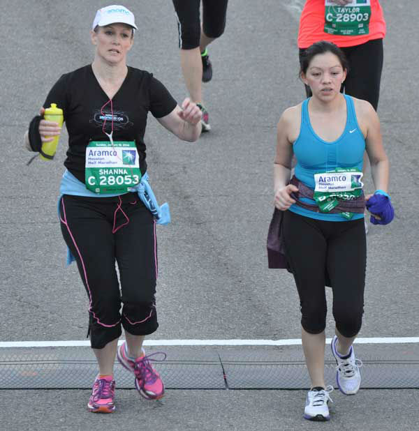 These are photos of runners crossing the finish line at the Chevron Houston Marathon and Aramco Houston Half Marathon Sunday, January 19, 2014.  Flip through the photos to check out the relief, exhaustion and celebration on the faces of the runners after conquering the courses.  If you have photos from the run, send them to us at news@abc13.com. <span class=meta>(Photo&#47;ABC13)</span>