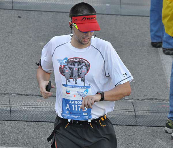 "<div class=""meta image-caption""><div class=""origin-logo origin-image ""><span></span></div><span class=""caption-text"">These are photos of runners crossing the finish line at the Chevron Houston Marathon and Aramco Houston Half Marathon Sunday, January 19, 2014.  Flip through the photos to check out the relief, exhaustion and celebration on the faces of the runners after conquering the courses.  If you have photos from the run, send them to us at news@abc13.com. (Photo/ABC13)</span></div>"