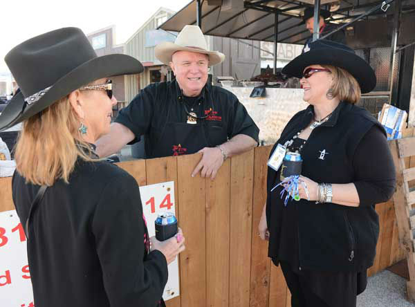 Smell something good coming from Reliant?   The  Houston Livestock Show and Rodeo World Championship BBQ Contest got underway Thursday night, with plenty of food, friends and fun!  <span class=meta>(Photo&#47;John Mizwa)</span>