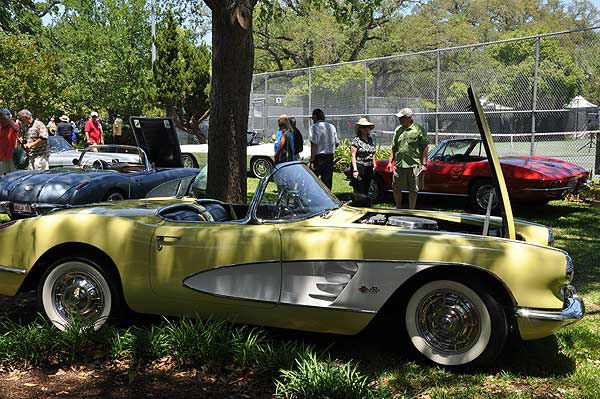 Classic cars and boats grace Lakewood Yacht Club in Seabrook, Texas, on May 3-4, 2014, for the Keels and Wheels Concours D&#39;Elegance. <span class=meta>(KTRK Photo)</span>