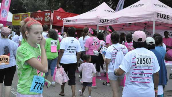 "<div class=""meta ""><span class=""caption-text "">Images from Saturday's Susan G. Komen Race for the Cure in downtown Houston.  Were you there?  Send in your pictures. </span></div>"