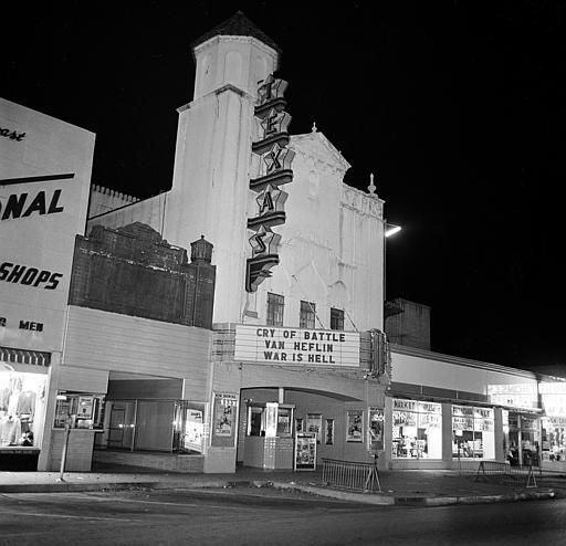 This is the Texas movie theater where suspected assassin Lee Harvey Oswald was arrested on November 22, 1963, shortly after U.S. President John F. Kennedy was shot and killed while riding in an open limousine through downtown Dallas, Texas.  &#40;AP Photo&#41; <span class=meta>(AP Photo&#47; XCB)</span>