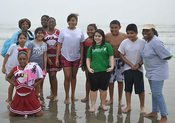 Brrrave teams and individuals took the Polar Plunge at Galveston&#39;s Stewart Beach on Saturday, January 21, 2012 to raise funds and awareness for Special Olympics Texas.  Members of local law enforcement, students, supporters and Special Olympians took to the frigid waters of the Gulf of Mexico. Proceeds support more than 1,700 athletes in the Gulf Coast area.  For more information, visit www.specialolympicstexas.org. <span class=meta>(KTRK Photo)</span>