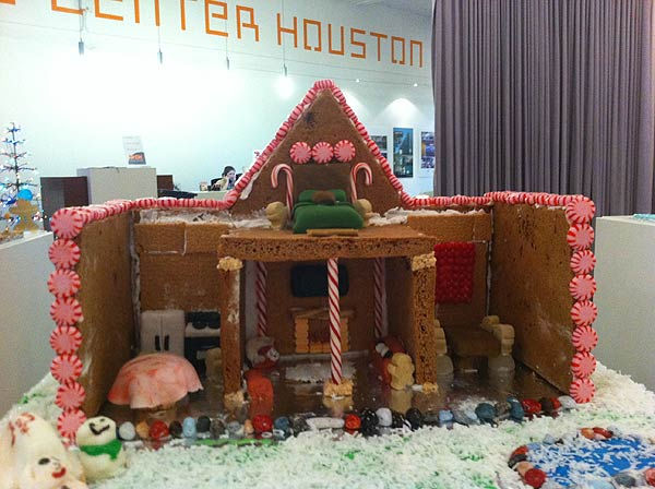 The winners of the Second Annual Gingerbread Build-Off are on display at the Architecture Center Houston in this incredible seasonal exhibition of talent.  This one is a gingerbread doll house. <span class=meta>(KTRK Photo&#47; Adela Uchida)</span>
