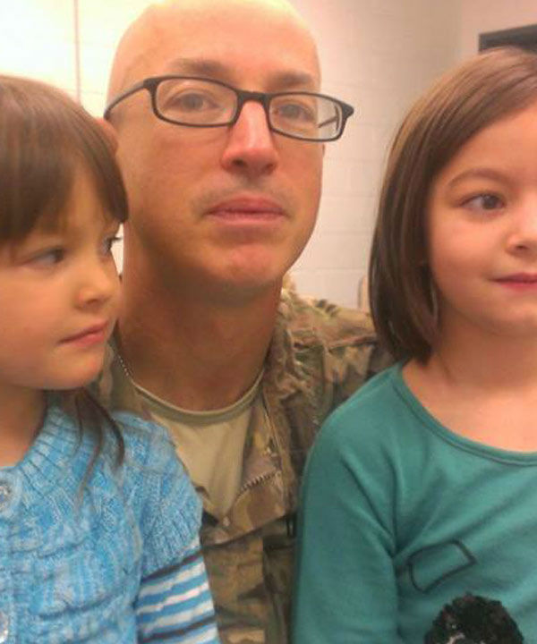 Today is not only Veteran's Day and Sgt. Mikell Minus' birthday, it is also the day he says goodbye to his daughters, Kennerly and Cadence and his pregnant wife Jyssica.  He leaves for his 3rd tour of duty this time in Afghanistan.  His baby boy is due to arrive on December 27th.  These are the types of sacrifices our military men and women and their families make every single day!  God bless each and every one of our soldiers and their families!  These are just some of the photos we've received.? To see more, log onto our iWitness Reports page.