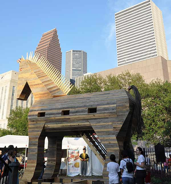 Houston&#39;s International Festival spotlighting the Silk Road: Journey Across Asia was held in downtown Houston April 30-May 1 and May 7-8, 2011. <span class=meta>(KTRK Photo)</span>