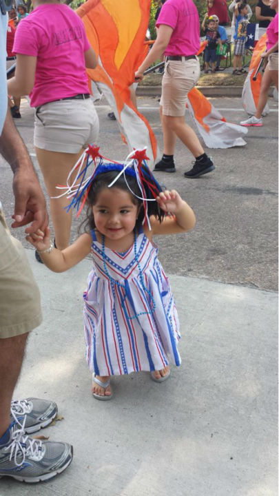 These are photos you've been sending to us, showing how you're celebrating our independence around the Houston area. If you've got photos, send them to us at news@abc13.com and we'll post them all on our iWitness Reports page. (Photo/iWitness Reports)