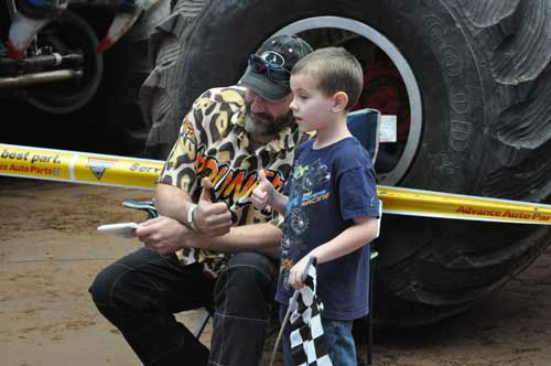 Monster truck fans of all ages got up close and personal with their favorite trucks and drivers on Saturday, January 19, 2013 <span class=meta>(KTRK Photo&#47; Kristy Gillentine)</span>