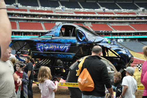 "<div class=""meta ""><span class=""caption-text "">Monster truck fans of all ages got up close and personal with their favorite trucks and drivers on Saturday, January 19, 2013 (KTRK Photo/ Kristy Gillentine)</span></div>"