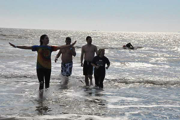 "<div class=""meta ""><span class=""caption-text "">Brrrrave participants in the 2nd Annual Polar Plunge ran into the chilly waters of the Gulf of Mexico at Galveston Island's Stewart Beach on Saturday, January 19, 2013, to support Special Olympics Texas athletes.  The money raised provides year-round sports training and competitions for 2,041 athletes in the Gulf Coast area. (KTRK Photo)</span></div>"