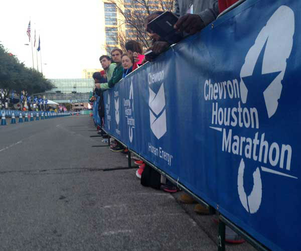 "<div class=""meta ""><span class=""caption-text "">These are photos of runners crossing the finish line at the Chevron Houston Marathon and Aramco Houston Half Marathon Sunday, January 19, 2014. Flip through the photos to check out the relief, exhaustion and celebration on the faces of the runners after conquering the courses. If you have photos from the run, send them to us at news@abc13.com or upload them to iWitness.abc13.com. (Photo/ABC13)</span></div>"