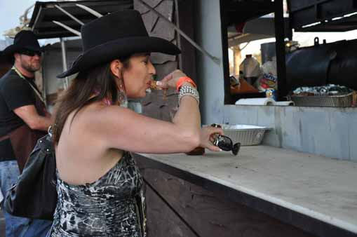 "<div class=""meta image-caption""><div class=""origin-logo origin-image ""><span></span></div><span class=""caption-text"">Thousands of people went to Reliant Park to enjoy barbecue, the carnival and music at the start of the Houston Livestock Show and Rodeo. (KTRK Photo/ Mena El-Sharkawi)</span></div>"