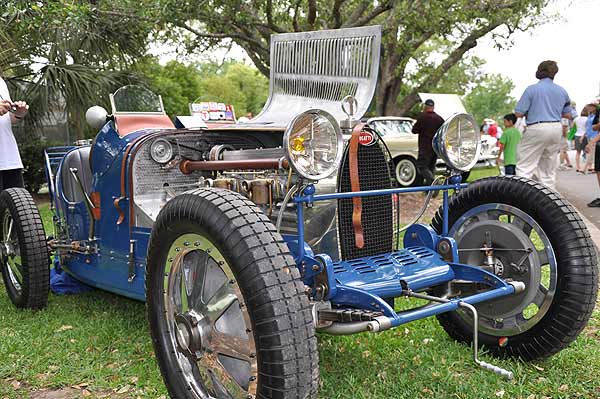 The 16th Annual Keels and Wheels Concours D&#39;Elegance was held April 30 and May 1, 2011 at the Lakewood Yacht Club in Seabrook, Texas.  The nation&#39;s first and now largest gathering of classic cars and boats takes place each spring only minutes away from Johnson Space Center.  The 16th year held a tribute to 100 years of Indianapolis racing and Century Boats. Additional displays included early 1900s examples of electric automobiles, cars of the stars, 50s classics, street rods, Italian exotics, Brass era classics and the heavy classics like Duesenburg, Packard, Bugatti, Pierce Arrow and others most people have never seen or heard of.  <span class=meta>(KTRK Photo)</span>