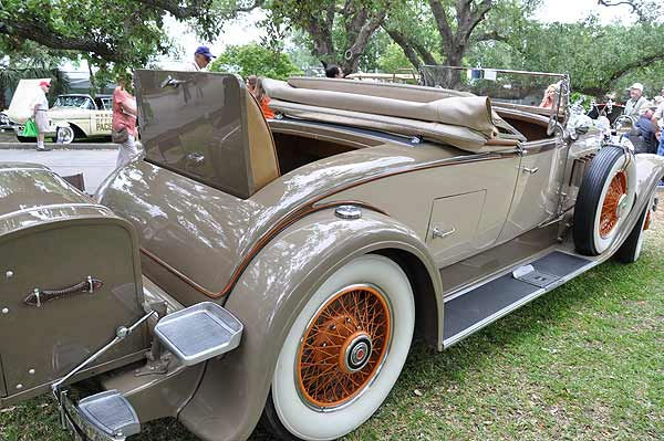 "<div class=""meta ""><span class=""caption-text "">The 16th Annual Keels and Wheels Concours D'Elegance was held April 30 and May 1, 2011 at the Lakewood Yacht Club in Seabrook, Texas.  The nation's first and now largest gathering of classic cars and boats takes place each spring only minutes away from Johnson Space Center.  The 16th year held a tribute to 100 years of Indianapolis racing and Century Boats. Additional displays included early 1900s examples of electric automobiles, cars of the stars, 50s classics, street rods, Italian exotics, Brass era classics and the heavy classics like Duesenburg, Packard, Bugatti, Pierce Arrow and others most people have never seen or heard of.  (KTRK Photo)</span></div>"