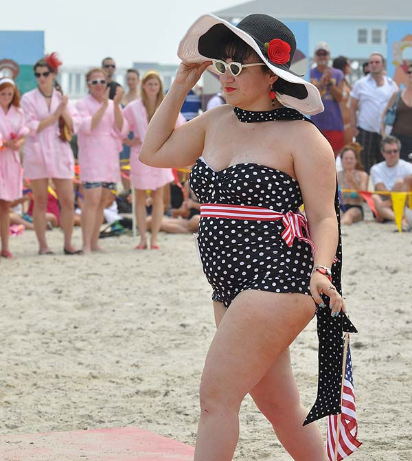 "<div class=""meta ""><span class=""caption-text "">Always a crowd favorite, Galveston's Bathing Beauties Contest was held Saturday, May 21, 2011, on the beach in front of the Historic Hotel Galvez. The Bathing Beauties Contest includes both contemporary and vintage/vintage-inspired competition categories.  (KTRK Photo)</span></div>"