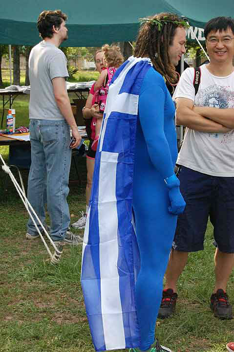 The 2012 Clear Lake Greek Festival featured the Second Toga FUN Run on May 26th, 2012 <span class=meta>(KTRK Photo)</span>