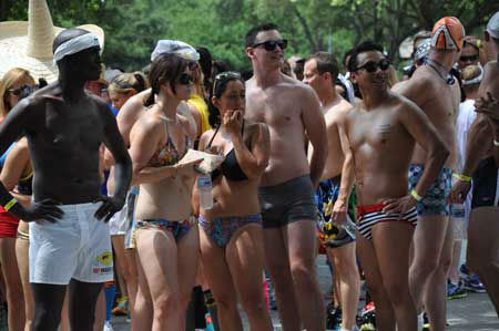 "<div class=""meta ""><span class=""caption-text "">It's hot in Houston, so it must be time for the annual Hot Undies Run! The 2013 party and 2-mile run through Rice Village raised money for the Muscular Dystrophy Association. (Photo/ABC13)</span></div>"