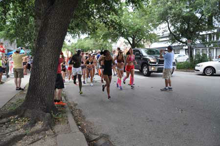 It&#39;s hot in Houston, so it must be time for the annual Hot Undies Run! The 2013 party and 2-mile run through Rice Village raised money for the Muscular Dystrophy Association. <span class=meta>(Photo&#47;ABC13)</span>