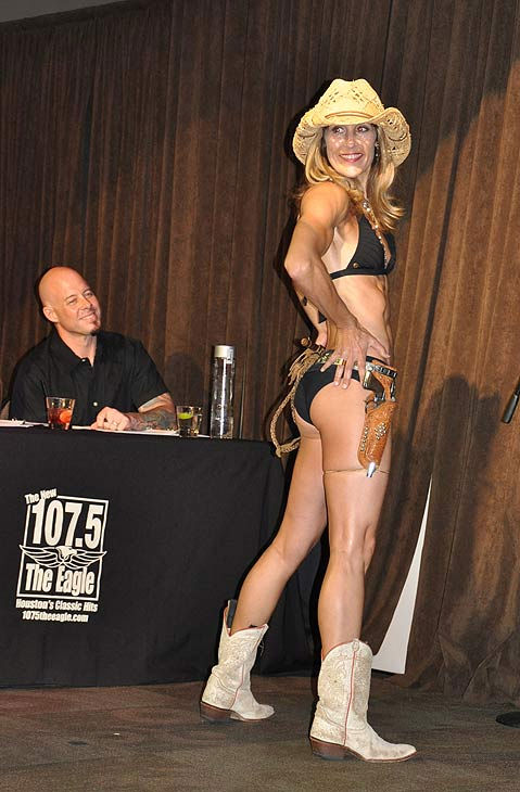 Seventeen beautiful biological mothers competed in the First Annual Body by Frances Boot Camp Search for Houston?s Hottest Mom Friday, June 17, 2011 at Cullen&#39;s Live.  Houston radio personalities Dean and Rog of The New 107.5 The Eagle hosted the competition with contestants appearing in evening or cocktail wear, swimwear or fitness apparel, and in an interview segment. A panel of judges selected winners in age categories 30-39 and 40 and over.  <span class=meta>(KTRK Photo)</span>