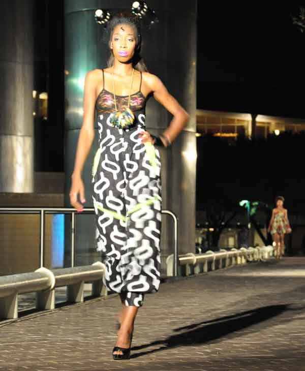 "<div class=""meta image-caption""><div class=""origin-logo origin-image ""><span></span></div><span class=""caption-text"">Houston Fashion Independence Group held its two-day runway fashion event at Tranquility Park in downtown Houston.  On Thursday, ?Fashion in the Park? event featured many designers, including Sarah Suicidal, Sameeri Frahadi and Ash Couture. (KTRK Photo)</span></div>"