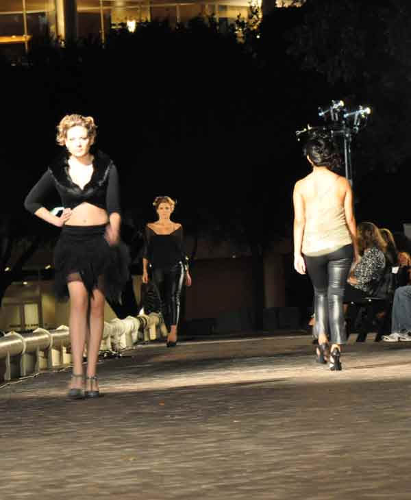Houston Fashion Independence Group held its two-day runway fashion event at Tranquility Park in downtown Houston.  On Thursday, ?Fashion in the Park? event featured many designers, including Sarah Suicidal, Sameeri Frahadi and Ash Couture. <span class=meta>(KTRK Photo)</span>
