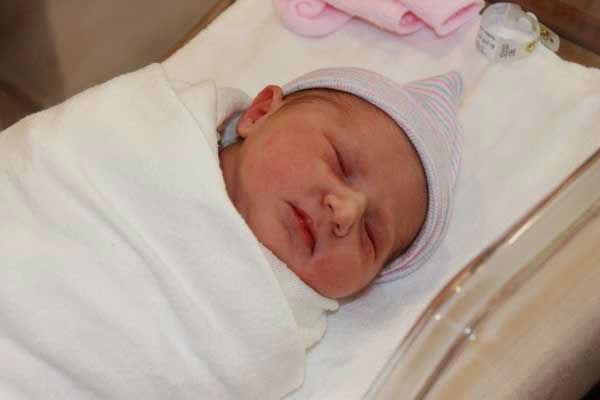 Elissa Rivas&#39; baby girl, Sophia, was born October 20, 2013 <span class=meta>(Elissa Rivas)</span>