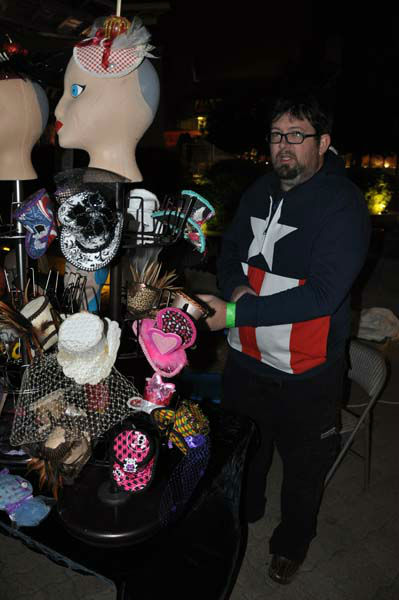"<div class=""meta ""><span class=""caption-text "">Hundreds of Halloween revelers convened at Jones Plaza on Oct. 27 for the 2nd annual Houston Zombie Walk for charity (KTRK Photo/ Mike O'Neill)</span></div>"