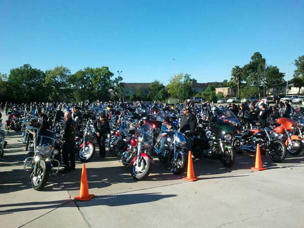 Hundreds of thousands of motorcycle enthusiasts fill the streets of Galveston at the 2013 Lone Star Rally. The annual event features free concerts, bike shows and even celebrity appearances. Were you there? Send photos to news@abc13.com! <span class=meta>(KTRK Photo&#47; Mike Fernau)</span>