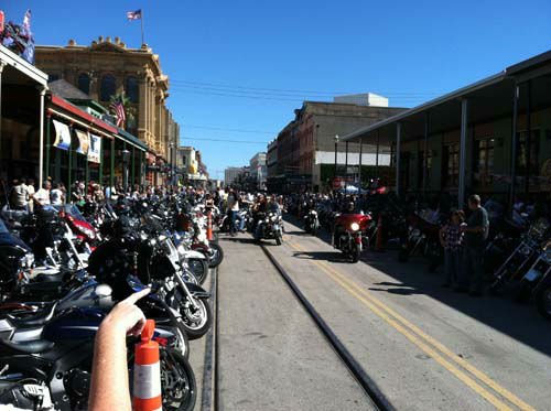 These are photos sent in by our viewers of the Lone Star Rally held this weekend in Galveston.  Were you there?  Send your photos to us at news@abc13.com! <span class=meta>(KTRK Photo&#47; iWitness Reports)</span>