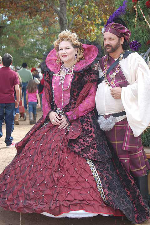 Lords, ladies and assorted fantasy creatures came out on Saturday, November 30, 2013, to pay homage to the King and Queen at the Texas Renaissance Festival.  The enchanted 55 acre village comes to life for eight weekends during October and November in the nation&#39;s largest Renaissance theme park. <span class=meta>(KTRK Photo)</span>