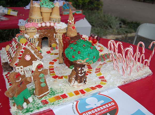"<div class=""meta image-caption""><div class=""origin-logo origin-image ""><span></span></div><span class=""caption-text"">Teams from architecture firms, design professionals, students and enthusiasts brought out their creativity to the 5th Annual Gingerbread Build-Off at City Hall's Hermann Square on Saturday December 14, 2013. More than 30 competing teams created their masterpieces using 100 percent edible materials.  (KTRK Photo)</span></div>"