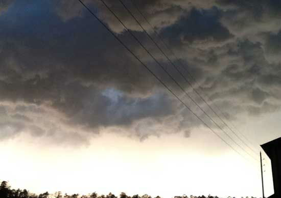 These are photos viewers sent to us as storms moved through the Channel 13 viewing area on Friday evening.  More are at iWitness.abc13.com.  If you have photos or videos from severe weather, email it to us at news@abc13.com. <span class=meta>(Photo&#47;iWitness Reports)</span>